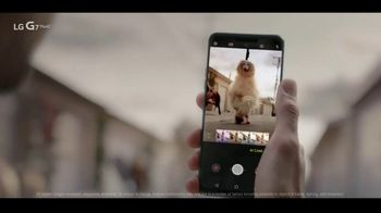 LG G7 ThinQ TV Spot, 'AI Cam for Dogs: $7 Per Month'