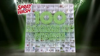 Spray 'n Wash TV Spot, '100 Rooms of Stains' - Thumbnail 1