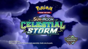 Pokemon TCG: Sun & Moon - Celestial Storm TV Spot, 'Disney Channel: Fun' - Thumbnail 8