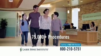 Laser Spine Institute TV Spot, 'Debilitating Pain' - Thumbnail 4