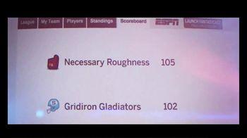 ESPN Fantasy Games TV Spot, 'Necessary Roughness' - Thumbnail 6