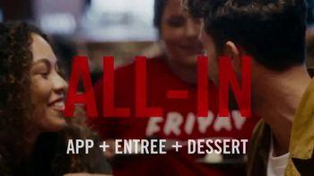TGI Friday's TV Spot, 'Going All In' - Thumbnail 8