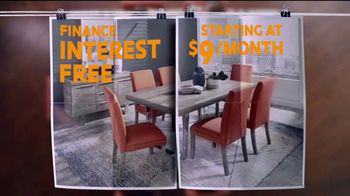 Rooms to Go TV Spot, 'The Perfect Piece: Interest-Free' - Thumbnail 10