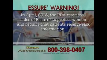 Essure Advocates TV Spot, 'Essure May Break or Migrate After Insertion' - Thumbnail 5