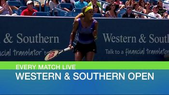 Tennis Channel Plus TV Spot, 'Western & Southern Open'