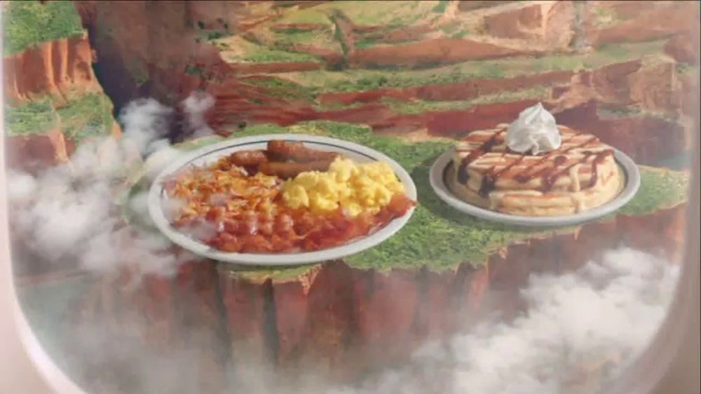 All The Pasta You Can Eat With Olive Garden S Never Ending: IHOP International Pancake Combos TV Commercial