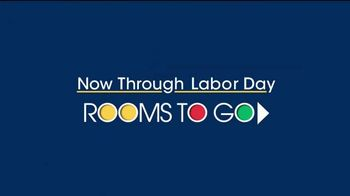Rooms to Go TV Spot, 'Labor Day: Dining Room Sets' - Thumbnail 1