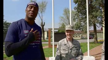 NFL TV Spot, 'Salute to Service: 2018 USO Tour' Featuring Carlos Dunlap - 8 commercial airings