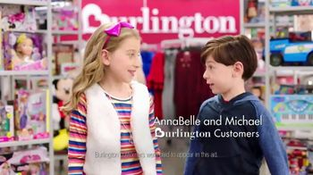 Burlington TV Spot, '2018 Holidays: Santa Shops at Burlington'