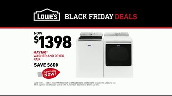 Lowe's Black Friday Deals TV Spot, 'Susan the Striker: Maytag Washer and Dryer Pair' - Thumbnail 10