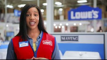 Lowe's Black Friday Deals TV Spot, 'Susan the Striker: Maytag Washer and Dryer Pair' - Thumbnail 7