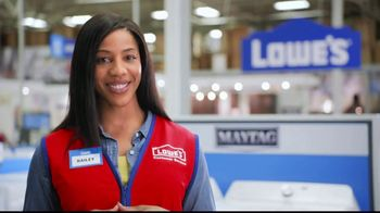 Lowe's Black Friday Deals TV Spot, 'Susan the Striker: Maytag Washer and Dryer Pair' - Thumbnail 8