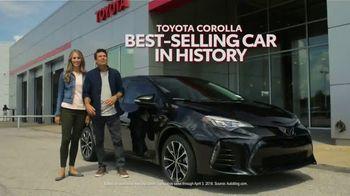 2019 Toyota Corolla TV Spot, 'Built Here' [T2] - Thumbnail 1