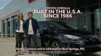 2019 Toyota Corolla TV Spot, 'Built Here' [T2] - Thumbnail 3