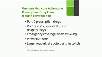 Humana Medicare Advantage Prescription Drug Plan TV Spot, 'All the Coverage' - Thumbnail 7