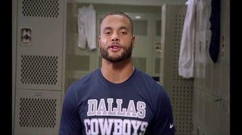 NFL Play Football TV Spot, 'Lone Star High School' Featuring Dak Prescott - Thumbnail 5
