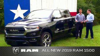 2019 Ram 1500 TV Spot, 'Impressive Truck: Storage' [T2] - Thumbnail 1