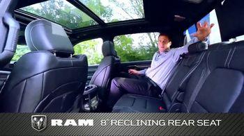 2019 Ram 1500 TV Spot, 'Impressive Truck: Storage' [T2] - Thumbnail 4