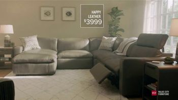 Value City Furniture TV Spot, \'Designer Looks: The Happy Collection\'