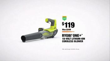 The Home Depot TV Spot, 'ESPN: Game Day: Cordless Blower' Feat. Desmond Howard, Lee Corso - Thumbnail 10