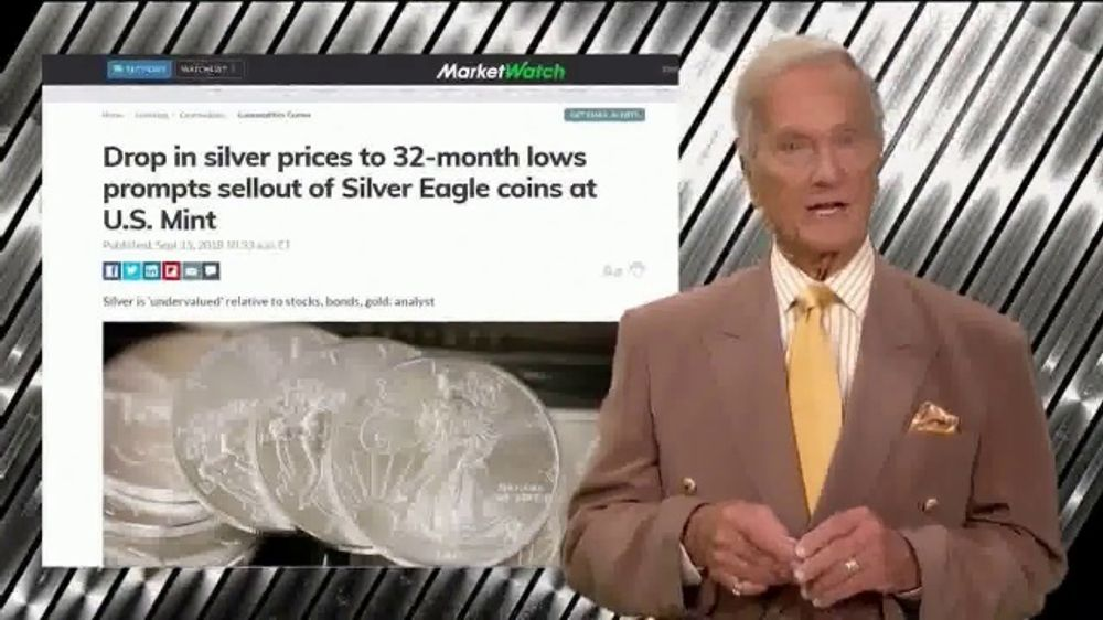 Swiss America TV Commercial, 'Now Is the Time to Rediscover Silver!' Featuring Pat Boone