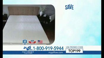 My Pillow Mattress Topper TV Spot, 'Too Hard or Too Soft' - Thumbnail 5