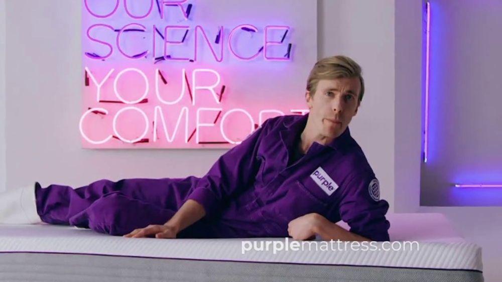 Purple Mattress Tv Commercial Greatest Scientific Marvel Since