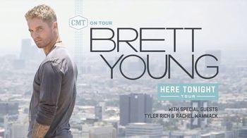 CMT On Tour TV Spot, 'Brett Young: Here Tonight Tour' - Thumbnail 2