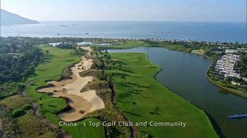 Hainan Greentown Blue Bay Resort TV Spot, '2018 Blue Bay LPGA' - 5 commercial airings
