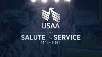 USAA TV Spot, 'Salute to Service: NFL Decals' - Thumbnail 1