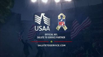 USAA TV Spot, 'Salute to Service: NFL Decals' - Thumbnail 8