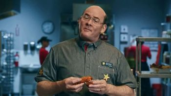 Hardee's Chicken Tenders & HoneyQ TV Spot, 'Spilled Shirt' Featuring David Koechner