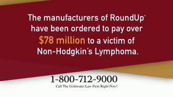Goldwater Law Firm TV Spot, 'Roundup'