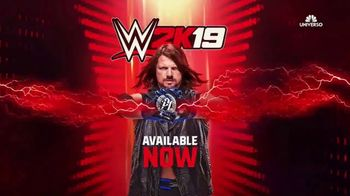 WWE 2K19 Games TV Spot, 'Fenomenal' [Spanish] - 2 commercial airings