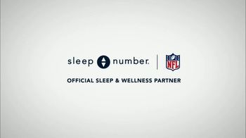 Sleep Number TV Spot, 'Official Sleep and Wellness Partner of the NFL' Featuring Victor Cruz - Thumbnail 1