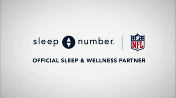 Sleep Number TV Spot, 'Official Sleep and Wellness Partner of the NFL' Featuring Victor Cruz - Thumbnail 10