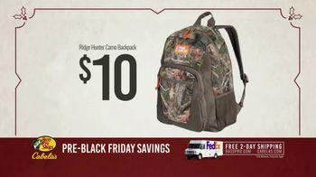 Bass Pro Shops Kickoff Sale TV Spot, 'Backpacks and Cameras' - Thumbnail 8