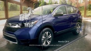 2018 Honda CR-V TV Spot, 'SUV of the Year' [T2] - 13 commercial airings