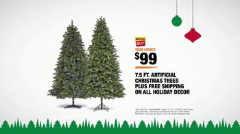 The Home Depot TV Spot, 'Holidays: Christmas Tree Special Buy' - Thumbnail 9