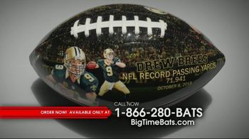 Big Time Bats Drew Brees All-Time Passing Leader Football TV Spot, 'NFL Record' - Thumbnail 1