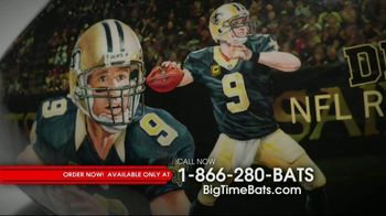 Big Time Bats Drew Brees All-Time Passing Leader Football TV Spot, 'NFL Record' - Thumbnail 2