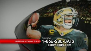 Big Time Bats Drew Brees All-Time Passing Leader Football TV Spot, 'NFL Record' - Thumbnail 4