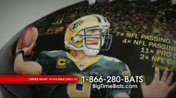 Big Time Bats Drew Brees All-Time Passing Leader Football TV Spot, 'NFL Record' - Thumbnail 5