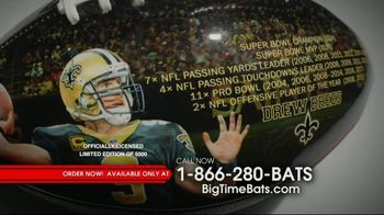 Big Time Bats Drew Brees All-Time Passing Leader Football TV Spot, 'NFL Record' - Thumbnail 6