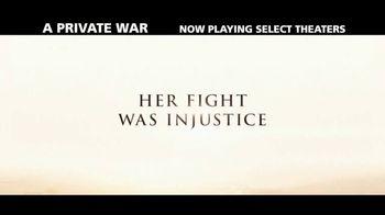 A Private War - Alternate Trailer 2