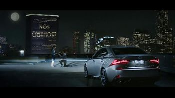Lexus IS F Sport TV Spot, 'El compromiso' canción de The Everyday Visuals [Spanish] [T1] - 107 commercial airings