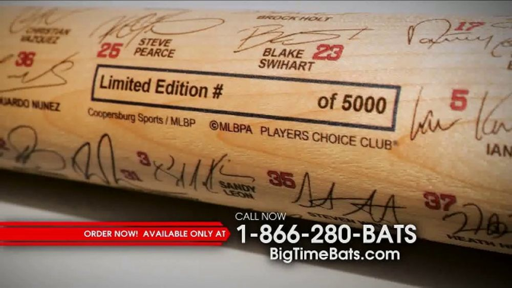 Big Time Bats TV Commercial, '2018 Boston Red Sox World Series Champions Bat'