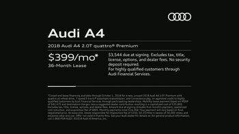 2018 Audi A4 TV Spot, 'Highly Intelligent' [T2] - Thumbnail 7