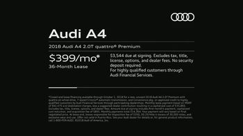 2018 Audi A4 TV Spot, 'Highly Intelligent' [T2] - Thumbnail 9