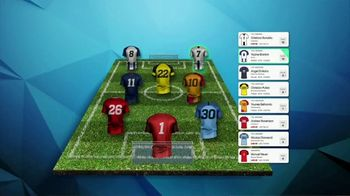 ESPN Fantasy Soccer TV Spot, 'Pick the Perfect Roster'